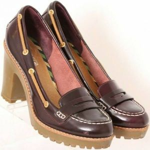 Sperry Top-sider Darlington Burgundy Penny Loafers